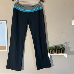 Lululemon Black Wide Leg Yoga Pants Size 10